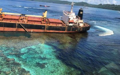 Solomon Islands to refloat ship after oil spill