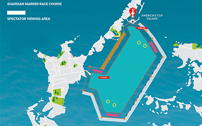 Vesper Marine Puts Fence Around America's Cup Racecourse