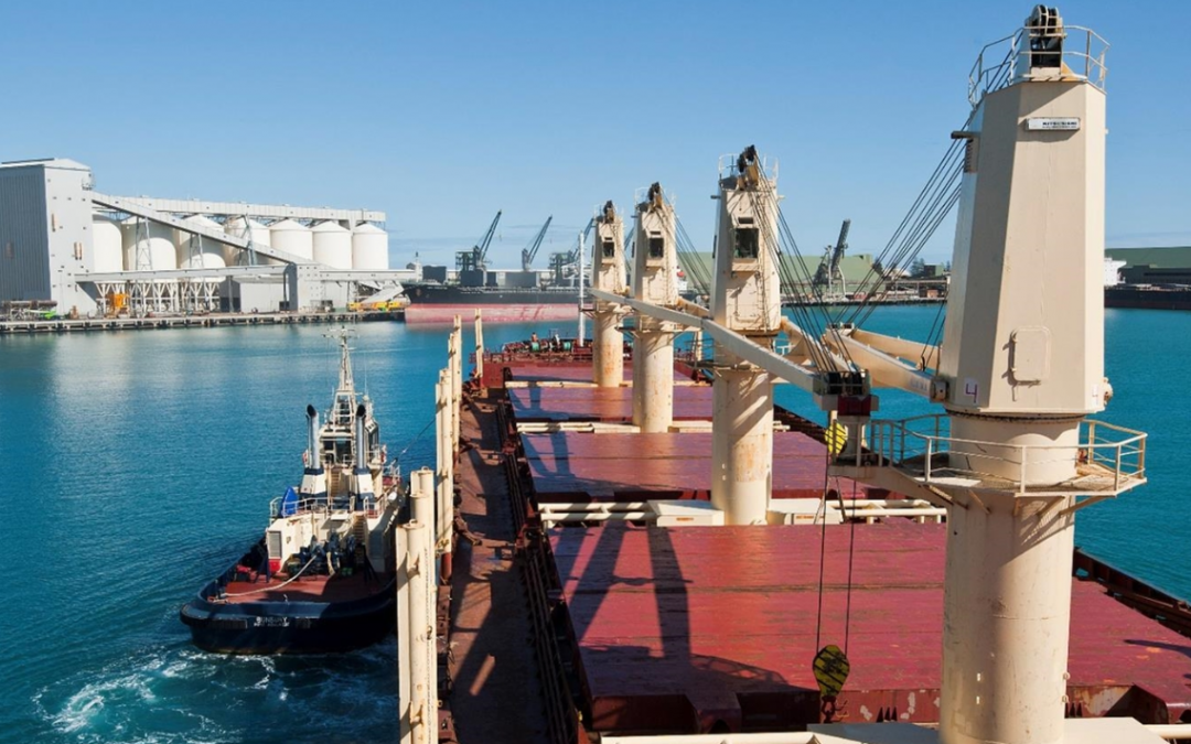 Guardian Deployed to Protect Vessels at Geraldton Port, Australia